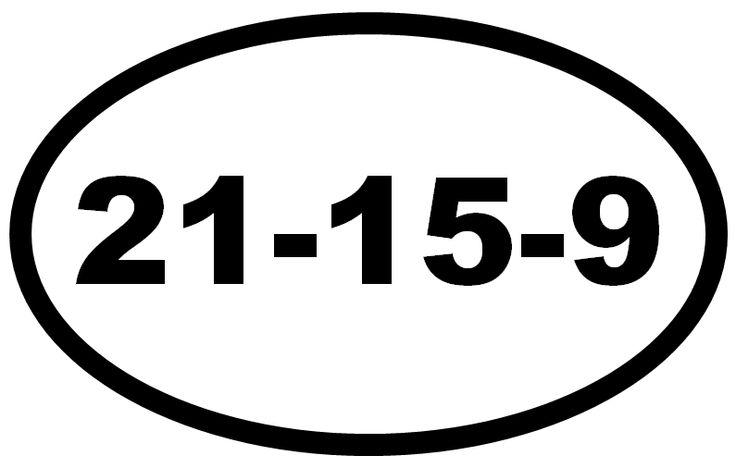 Saturday 9th Feb…21.15.9