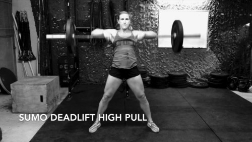 Sumo Deadlift High Pull Crossfit Output
