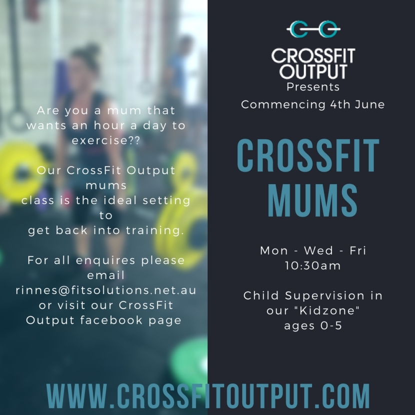 Calling All Mums wanting to get back inshape